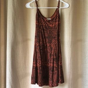 Billabong aztec print sun dress